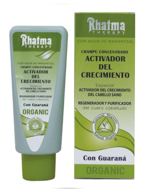 Champú concentrado activador con guaraná