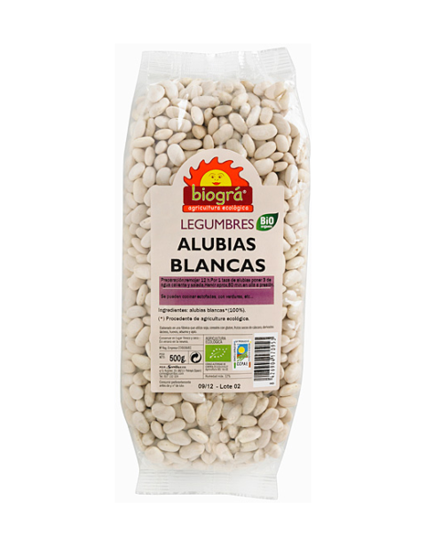 Alubias Blancas 500g