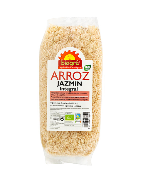 Arroz Jazmín Integral 500g