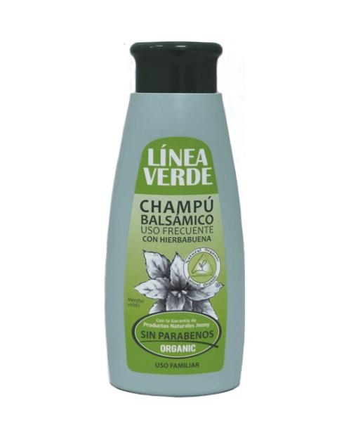 Champu Balsamico Uso Frecuente Con Hierbabuena 400 ml