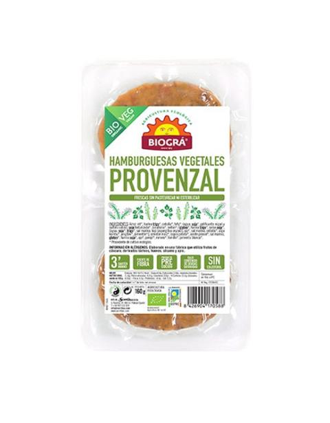 Hamburguesa vegetal Provenzal