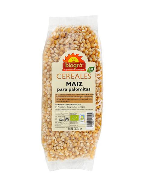 Maíz en grano palomitas 500g