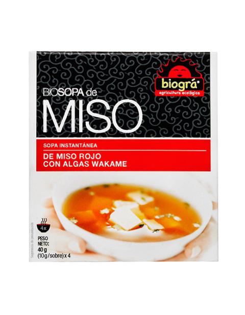Sopa Miso con Algas Wakame