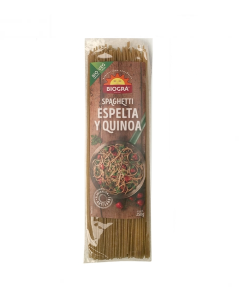 Spaguetti de Espelta con Quinoa